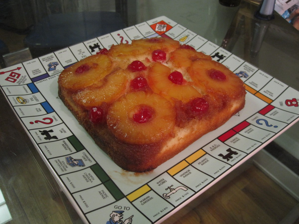 Eva Longoria's Pineapple Upside-Down Cake