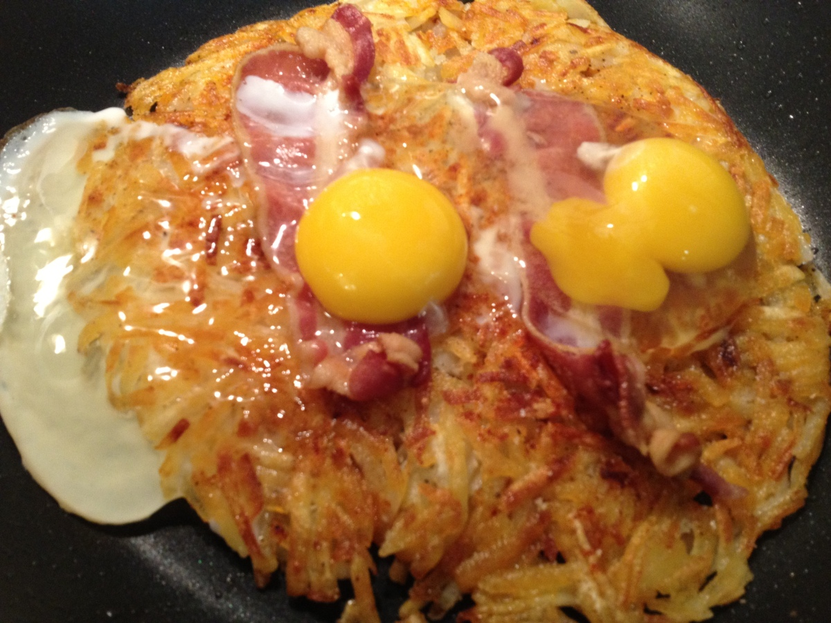 One-Pan Hash Brown Breakfast