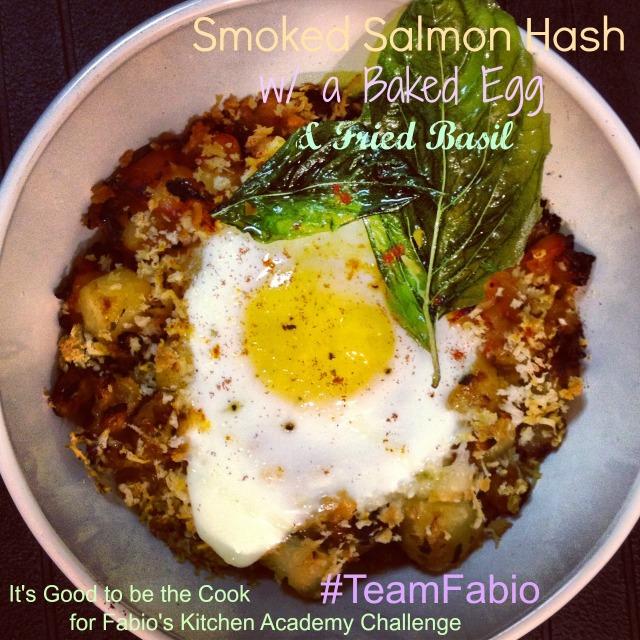 Smoked Salmon Hash