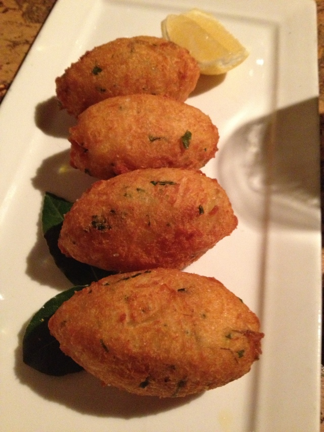 Potato and Cod Croquettes