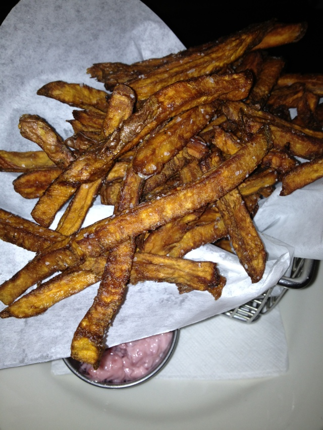 Crispy Sweet Po Fries