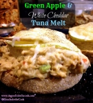 Green Apple and White Cheddar Tuna Melt