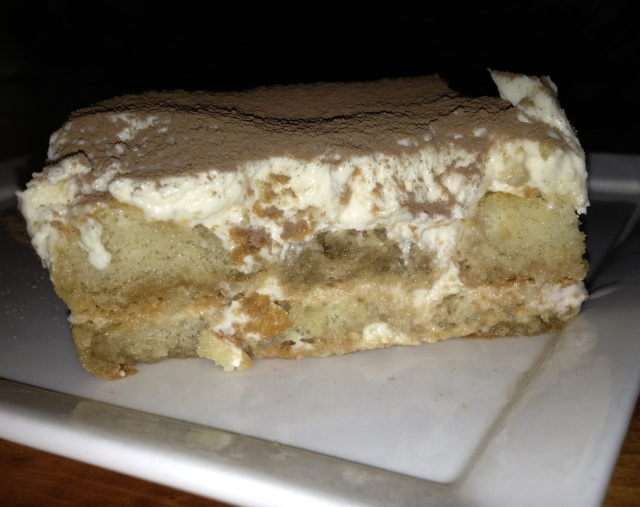 Nom nom nom!! Look how creamy this Tiramisu is.  I think I've found a favorite dessert... Tiramisu tour of Philly, anyone?