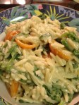 Blue Cheese n Spinach Orzo from Robert Irvine