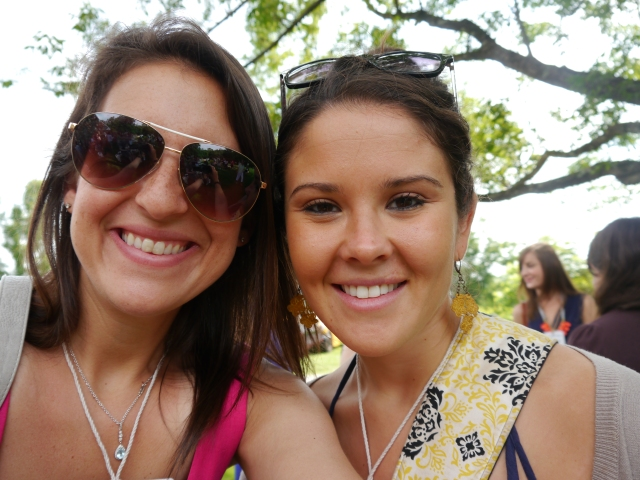 Me and my blogging inspiration/dear friend Allie!