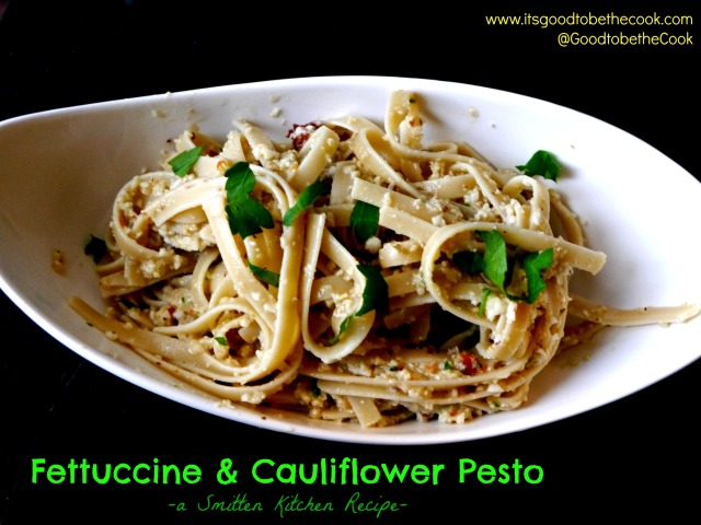 Cauliflower Pesto