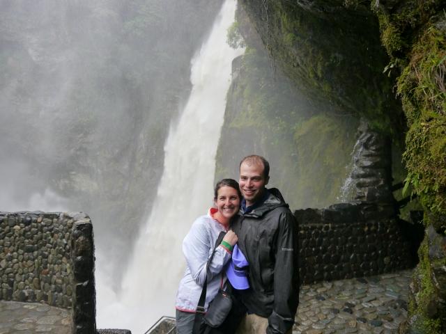 Pailon del Diablo falls was unreal.  The power of the water was just breathtaking.