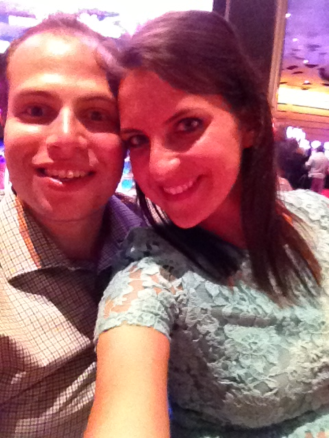 A cute photo from our date night in Atlantic City :)