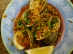 Clams w/ Israeli Couscous