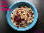 Peanut Butter & Jelly Hot Cereal